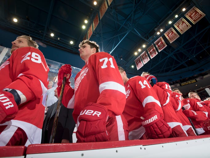 Go through the gallery to see Detroit Red Wings player-by-player