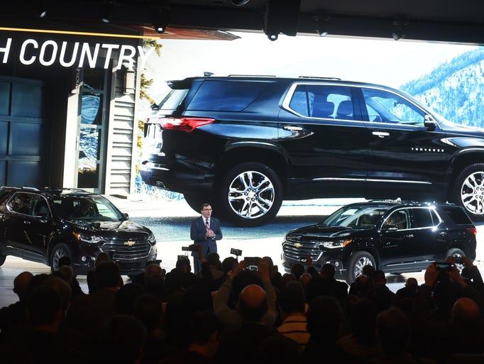 Alan Batey, president of GM North America/Global Chevrolet
