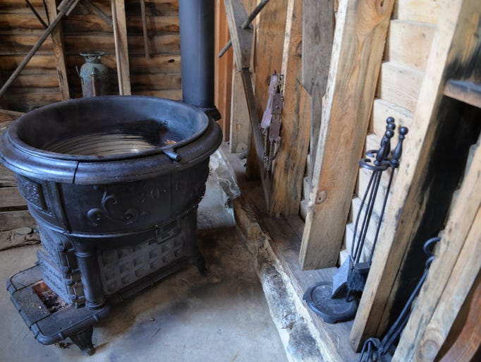 Sugar kettle used to make maple syrup in Tim Duff's