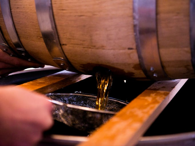 The last barrel of Old Glory Distilling Company's bourbon