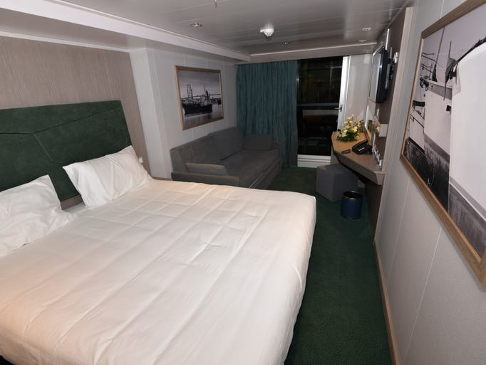Photos Cabin Mock Ups For The Soon To Debut Msc Seaside