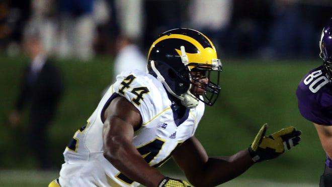 Michigan defensive back Delano Hill