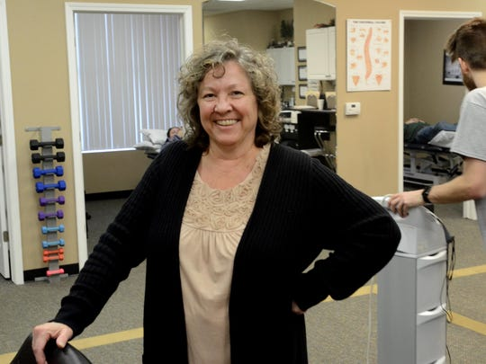 Rebecca Connell, of South Lyon's Brostrom Physical Therapy, has been named the top ambassador to the business community by the chamber of commerce.