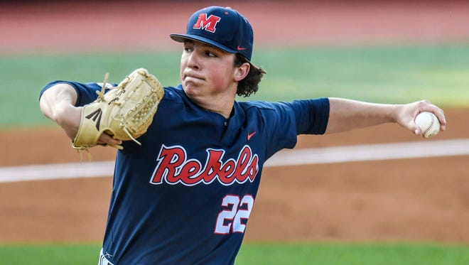 Ryan Rolison bounced back nicely from a rough start against South Carolina with a win against Auburn Thursday.