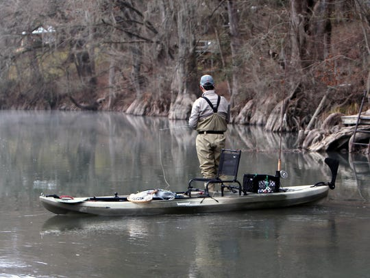 Some stretches of the river are uninhabited, while
