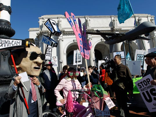 #StopWatchingUs: Anti- #NSA Rally Attracts Thousands In DC