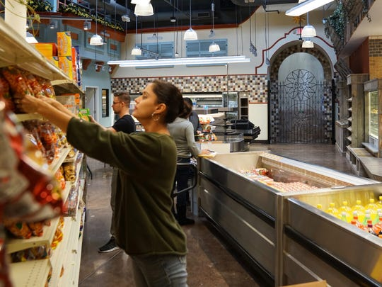 Mazfresco Market will be the first business to open