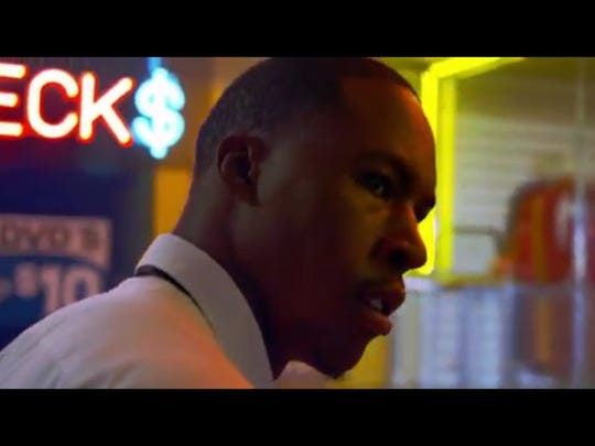 """Delvon Roe stars as Wesley Ray in the short film """"The Cager,"""" which was written and directed by his former MSU men's basketball teammate Keenan Wetzel."""
