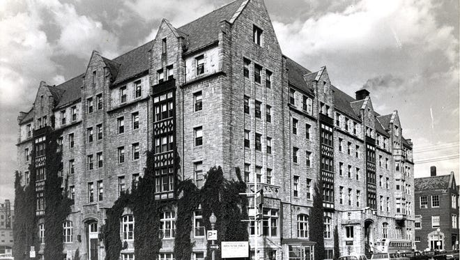 The Downtown YMCA in an undated photo from the 1960s.