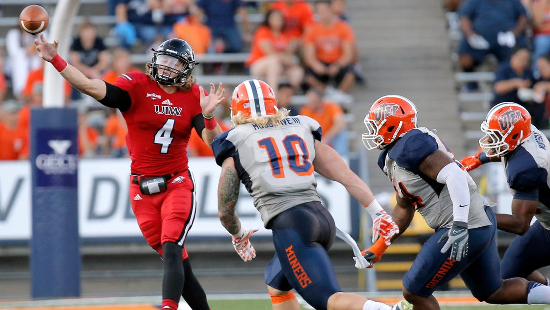Miners hold off Incarnate Word 27-17