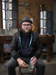 Chris Courts, head distiller of the Northside Distilling Co.