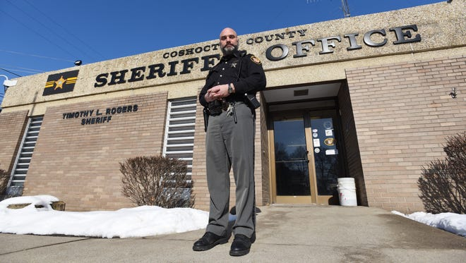 Lt. Dean Hettinger of the Coshocton County Sheriff's office said undercover drug buys and the number of drug dealers had nearly doubled in 2017 from 2016. It is the biggest change in a review of crime statistics for the local area.