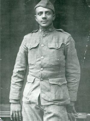 Ernest McKissick, 1918.