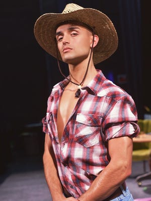 "De Pere native Jack Janowicz has spent the last month back in Green Bay playing Farmer Langlade in ""Something Stinks in Kaukauna."" He goes back to California on Monday."
