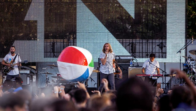Common Ground 2016 is here. Pictured: Awolnation.