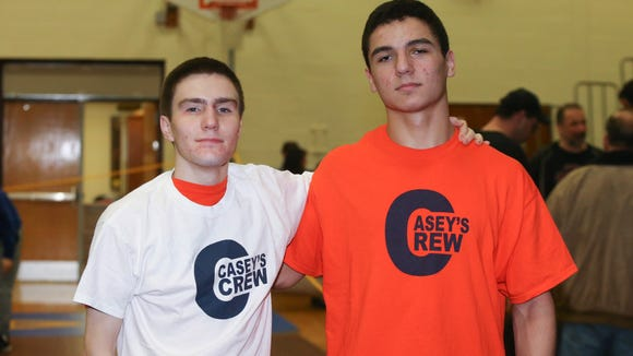 Horace Greeley's Matt Schreiber, left, and Aaron Wolk