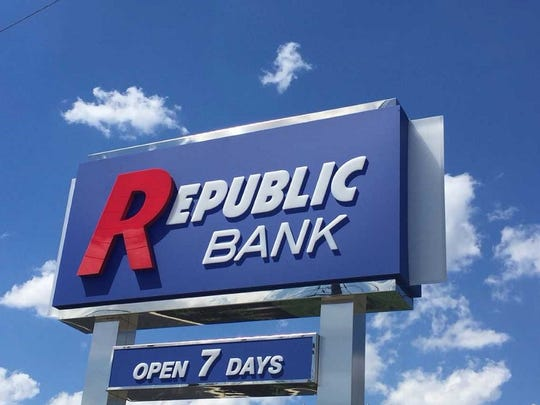 Republic Bank, expanding in South Jersey, plans to open seven branches in the Delaware Valley this year.