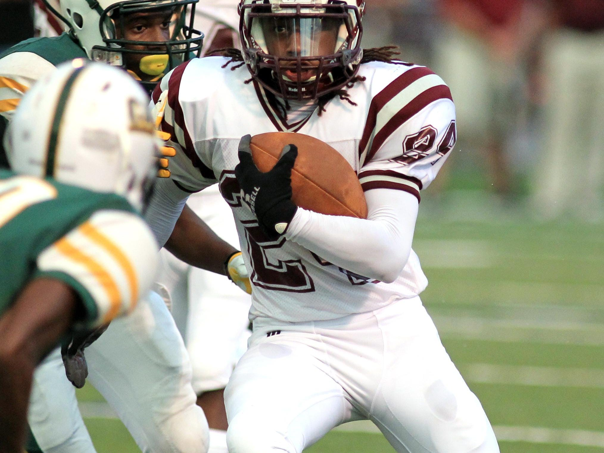 Breaux Bridge running back Ruben Hypolite is one of the few returners with time in the backfield from a year ago.
