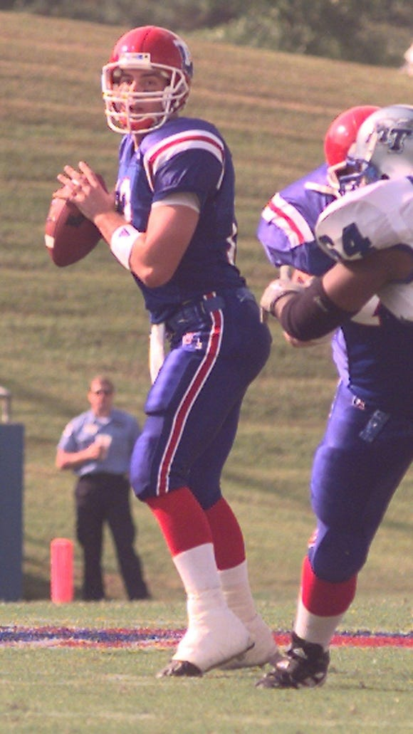Former Louisiana Tech quarterback and current wide