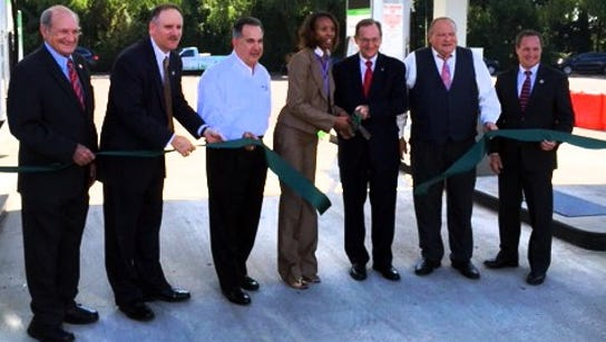 State officials cut the ribbon on the state's first