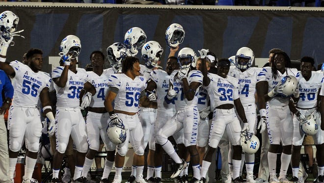 Expect the Memphis Tigers to beat Navy and maybe take control of the AAC.