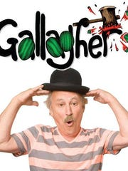 The unpredictable comic Gallagher will be in El Paso next week.