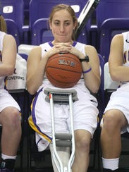 From 2011: An injury kept Jacqui Kalin on the bench,