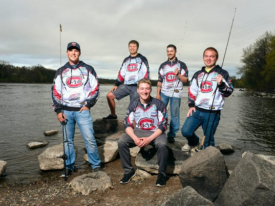 Scsu bass fishing club balances competition recreation for Local bass fishing clubs