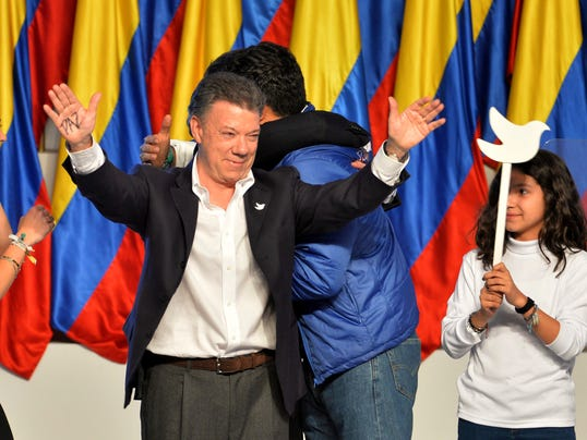 AP Colombia Election