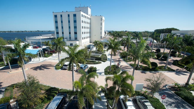 Martin Medical Center, 200 S.E. Hospital Ave. in Stuart, is a nonprofit hospital with 399 beds.