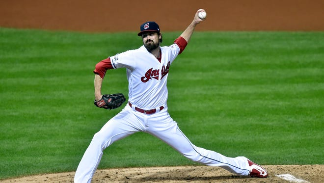 Andrew Miller was summoned in the fifth inning of Game 1.