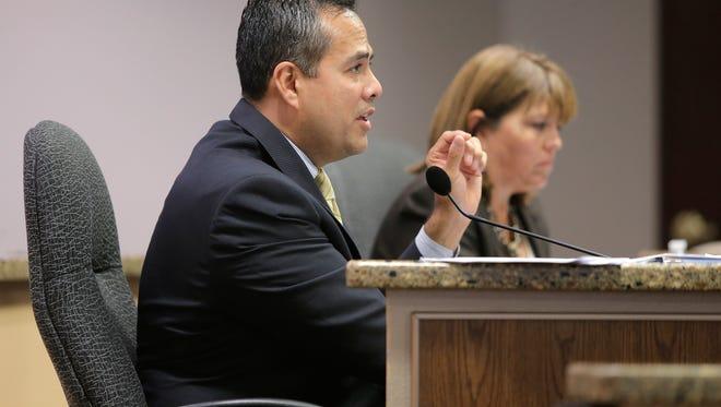 El Paso City Manager Tommy Gonzalez