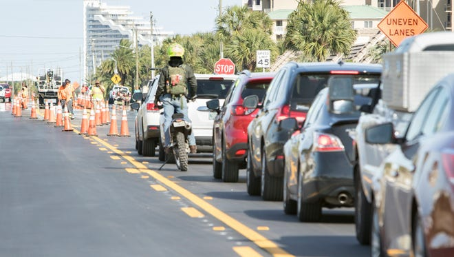 Ensuring quick repairs to Perdido Key Drive, especially following hurricanes, is one sticking point for Commissioner Doug Underhill on the plan to swap control of the main artery through Perdido with Beulah Road.