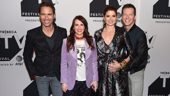 'Will and Grace' stars Eric McCormack, Megan Mullally,