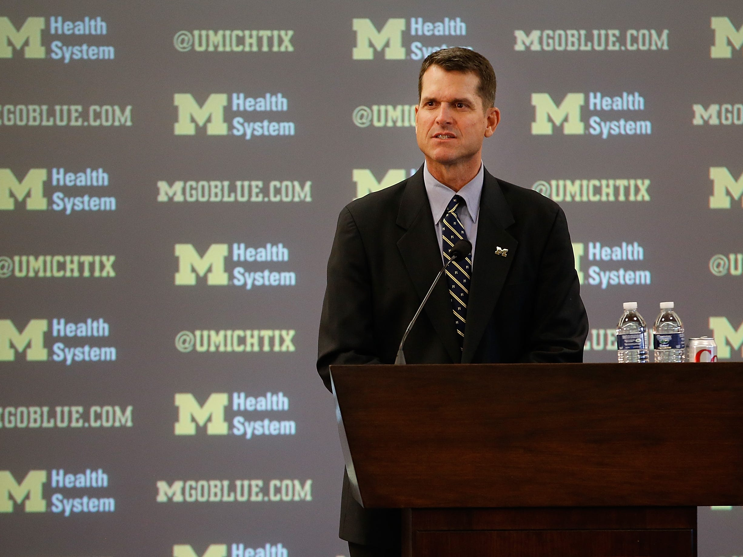 Michigan coach Jim Harbaugh and his coaching staff will be at the Prattville Elite Football Camp on June 5.