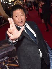Benedict Wong at last month's world premiere of 'Doctor