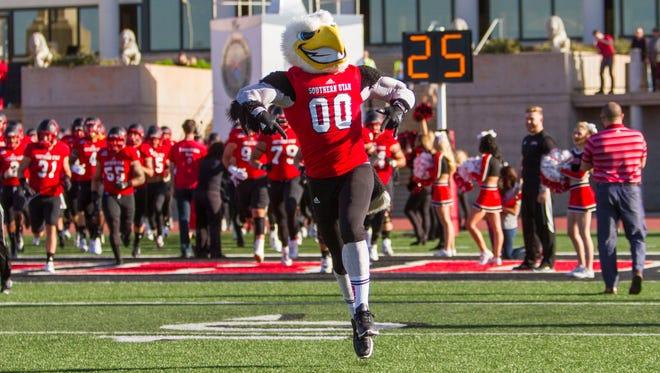 College football: Southeastern Louisiana at Southern Utah, Saturday, Sept. 10, 2016.