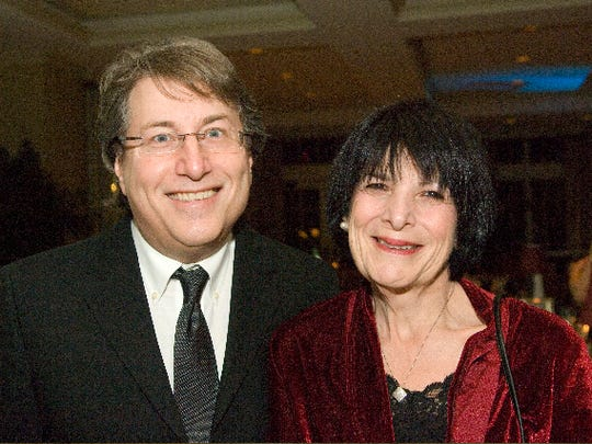 """""""Hereafter Musical"""" executive producer Vinnie Favale and his wife, Debbie Favale, of Middletown, at Prevention First's """"Fly Me to the Moon"""" 2012 gala at the Navesink Country Club in Middletown."""
