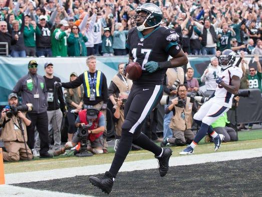 Philadelphia Eagles wide receiver Alshon Jeffery makes
