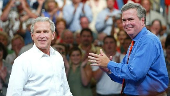Former President George W. Bush and his brother, former Florida Gov. Jeb Bush, will speak Nov. 13-15 in Naples at the Global Financial Leadership Conference.