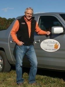 Jim Young, owner and proprietor of Sand Hollow Speakeasy and Sand Hollow Winery