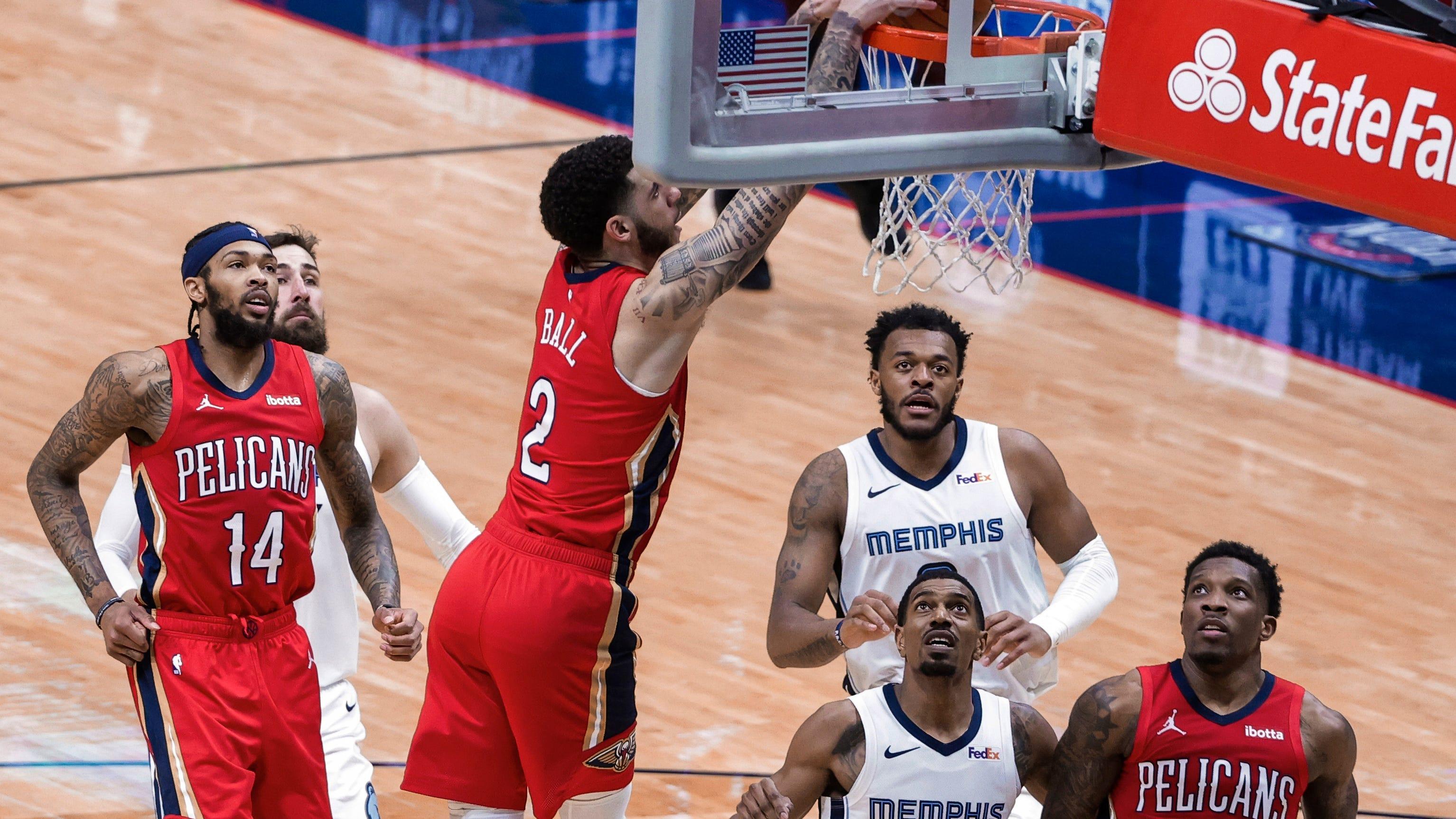 Αποτέλεσμα εικόνας για New Orleans Pelicans - Memphis Grizzlies 118-109