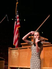 Abby Wuehler from Desert Hills, winner of the music award, was the final performance of the evening during the annual Southwest Utah Sterling Scholar competition on Thursday.
