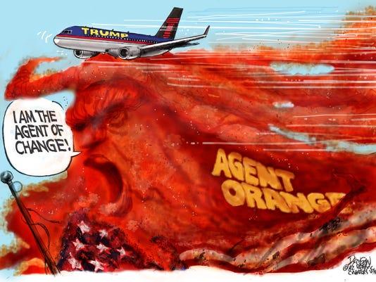 Donald Trump's 'change agent'