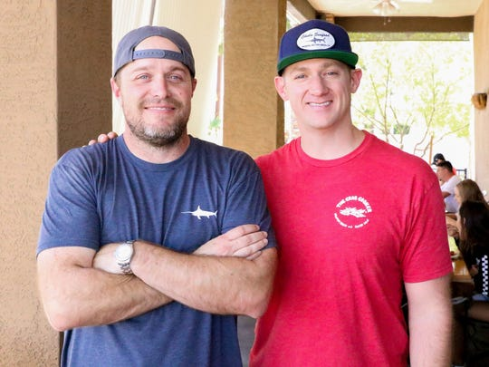 Jon Heflin (left) and Hogan Jamison are the owners of Chula Seafood.