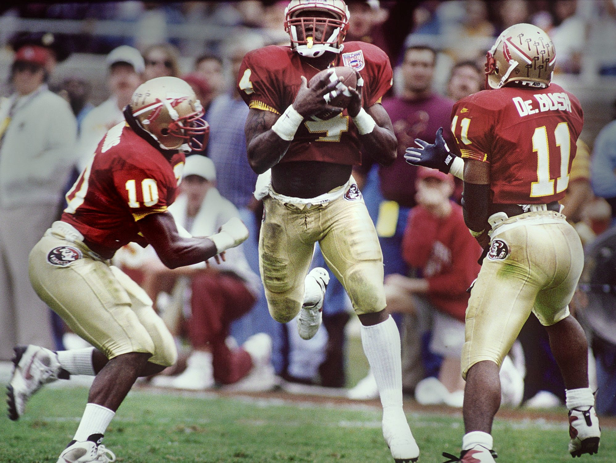 Corey Fuller, under the tutelage of high school coach Mike Hickman while at Rickards, blossomed into an All-American at FSU before playing nine seasons in the NFL.