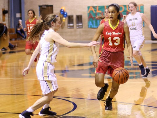 Danielle Okeke provides Christ Academy with plenty of athleticism and experience.