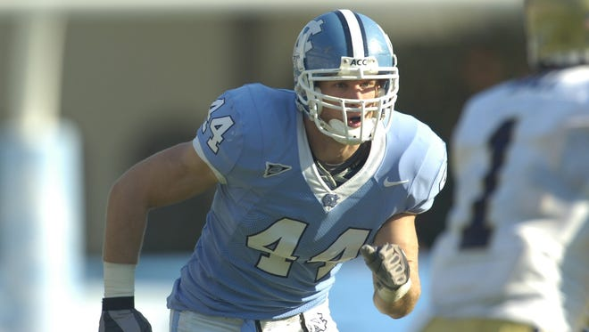 Reynolds alum Chase Rice played college football at North Carolina.
