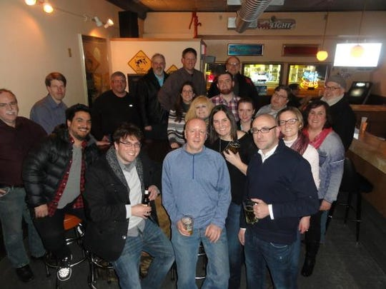 Colleagues and friends send off Press-Gazette Media Community Engagement Editor Amber Paluch with a farewell party.
