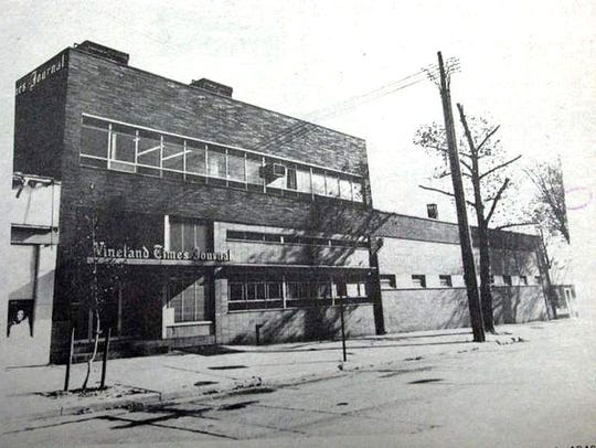 The former Vineland Times Journal Building on Seventh